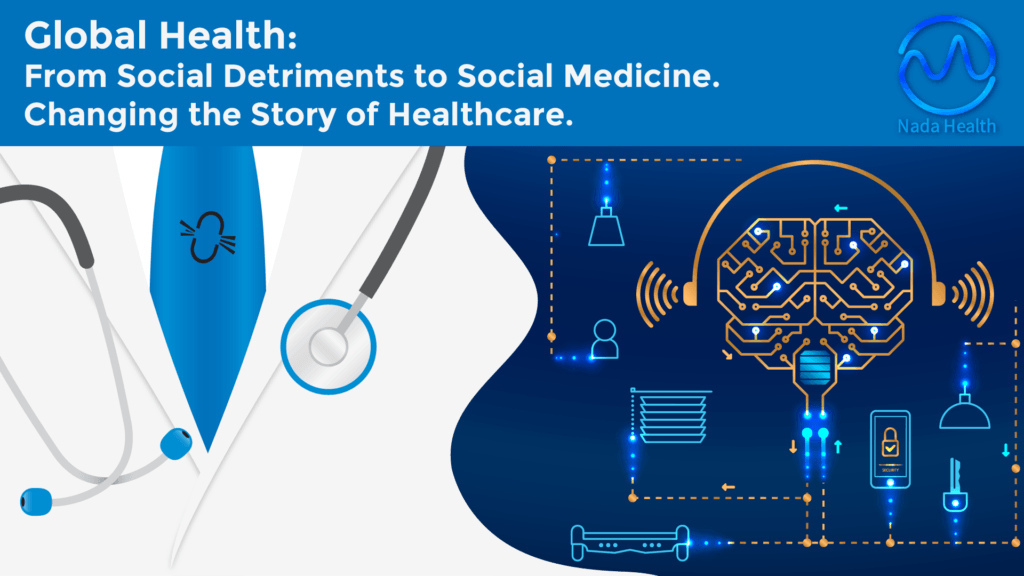 Global Health: From Social Detriments to Social Medicine. Changing the Story of Healthcare.